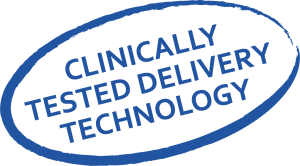 clinically tested delivery technology